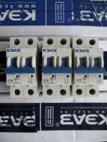 Фотография автоматического выключателя ВМ63 2Р на 8, 10, 16, 20 и 25 ампер с характеристикой С