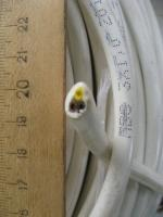 Фото бухты бытового гибкого провода ПВС 3х1 для подвижной и стационарной прокладки