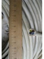 Изображение бухты монтажного четырёхжильного провода ПВС 4х1 в поливинилхлоридной изоляции и общей защитной оболочке