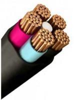 Схематический вид силового кабеля ВВГнг-LS 5х2.5 пониженной горючести с низким выделением дыма