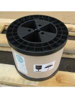 Сфотографированная катушка с эмалированным обмоточным проводом марки ПЭТ-155 диаметром 1.32 мм