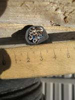 Фотография сечения кабеля КВВГнг 14х2.5 в ПВХ изоляции и оболочке пониженной горючести