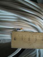 Фотография сечения гибкого соединительного провода ШВВП 3х0.5