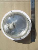 Светильник НПП 2602А с корпусом из пластика без защитной решётки