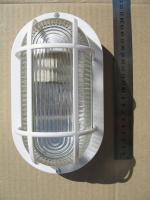 Фотография овального пластикового пылевлагозащищённого светильника НПП 2603 выпуска компании ИЭК