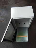Корпус под ящик учёта электроэнергии с габаритными размерами 400х300х200