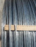 Фотография сталеалюминиевого провода АС 120 / 27 для линий с высоким напряжением