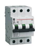 Изображение модульного автоматического выключателя G63 на 32А производства корпорации GE