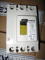 Фотография внешнего вида неселективного автоматического выключателя ВА 04-36 в исполнении 340010 на ток 250А изготовления КЭАЗ
