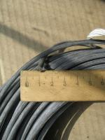 Фотография термостойкого провода SIF 1x4 с одной медной жилой в силиконовой изоляции