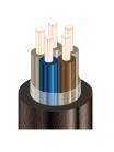 Изображение медного пятижильного контрольного кабеля КВВГ 5х6 для вторичных сетей переменного и постоянного тока