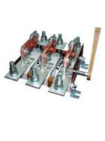 Изображение трёхполюсного рубильника РЕ19-35 31120 на номинальный ток 250 ампер с боковым приводом