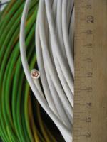Фотография силового гибкого одножильного медного провода ПВ3нг-LS 4 в негорючей малодымной ПВХ изоляции разного цвета
