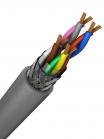 Фотография экранированного негорючего малодымного кабеля управления КУПЭВнг-LS 4х2х0,5 витая пара