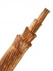Фотография гибкого провода МГ 120 без изоляции